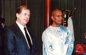 Václav Havel, Sri Chinmoy