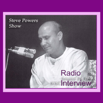 Interview on Steve Powers Show