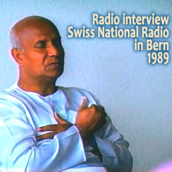 Entrevista na Rádio Suíça Nacional