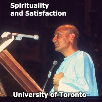 Spirituality and Satisfaction