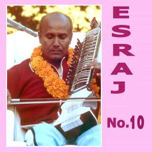 Sri Chinmoy plays the esraj 10