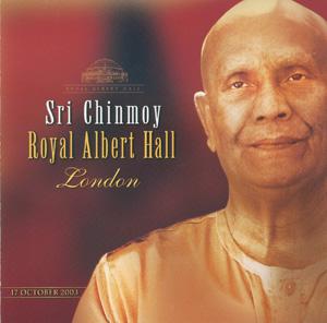 Sri Chinmoy at the Royal Albert Hall, London