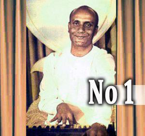"""Sri Chinmoy sings with harmonium"" part I"