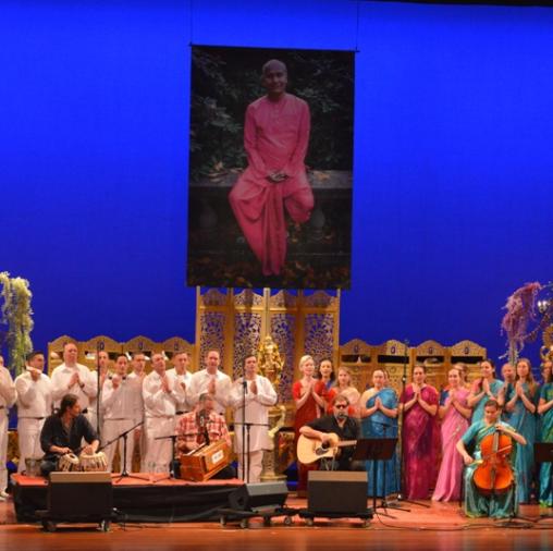 Purushottama and Disciples, April 15, 2014-Small
