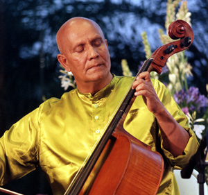 Sri Chinmoy Plays the Cello and the Harmonium
